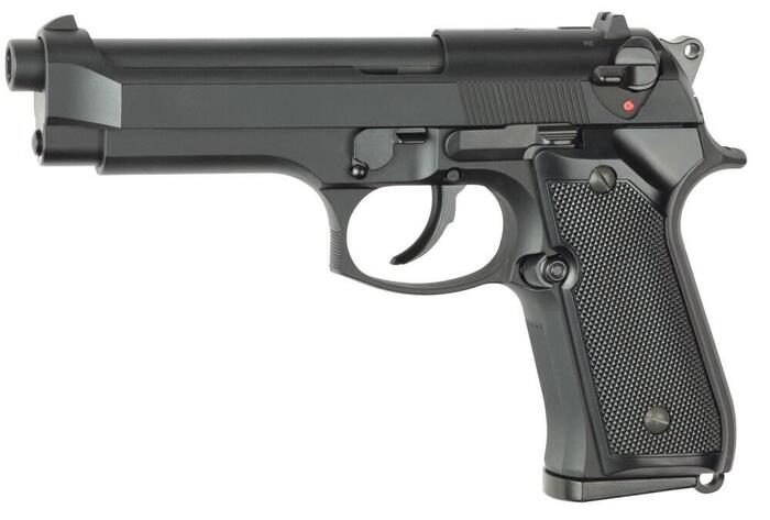 Fed hardball pistol Beretta m9 model i sort