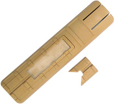 King Arms Rail Cover with Pressure Switch Pocket ( Tan )