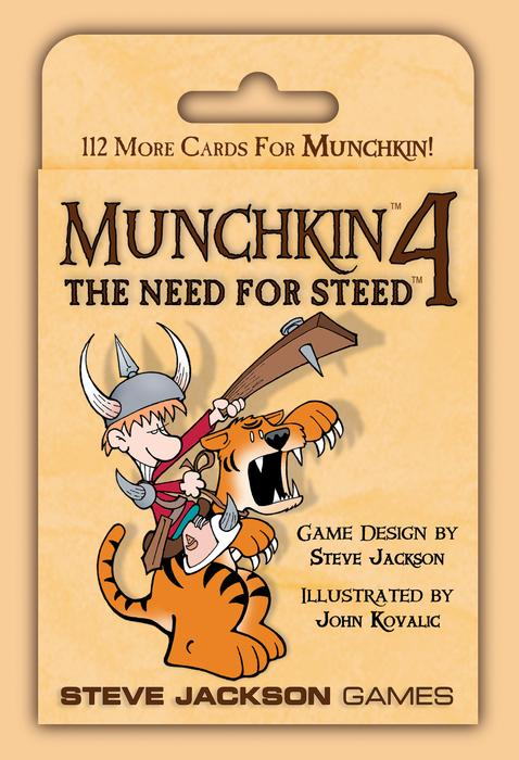 Munchkin 4 . The Need for Steed