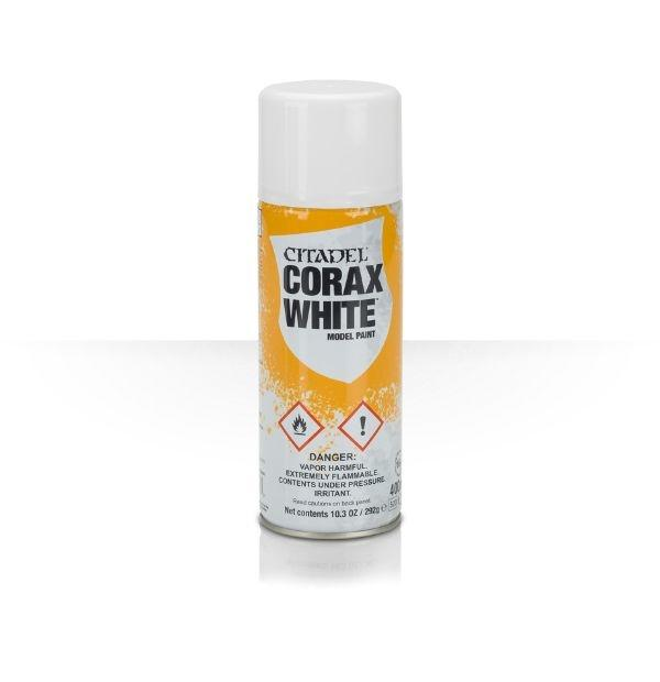 Warhammer Spray maling, Corax White
