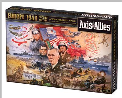 Axis & Allies Europe 1940 (2012) brætspil