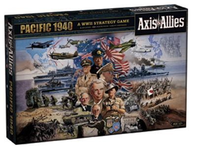 Axis & Allies Deluxe - Pacific 1940 2nd edition brætspil