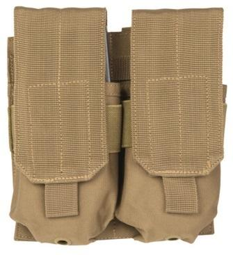 Double M4/M16 Mag Pouch Tan