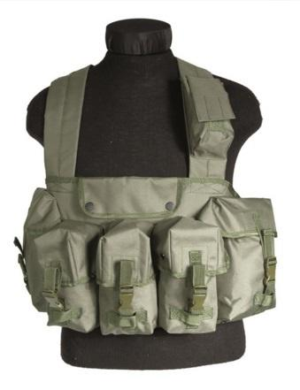 CHEST RIGG 6-POCKET Olive