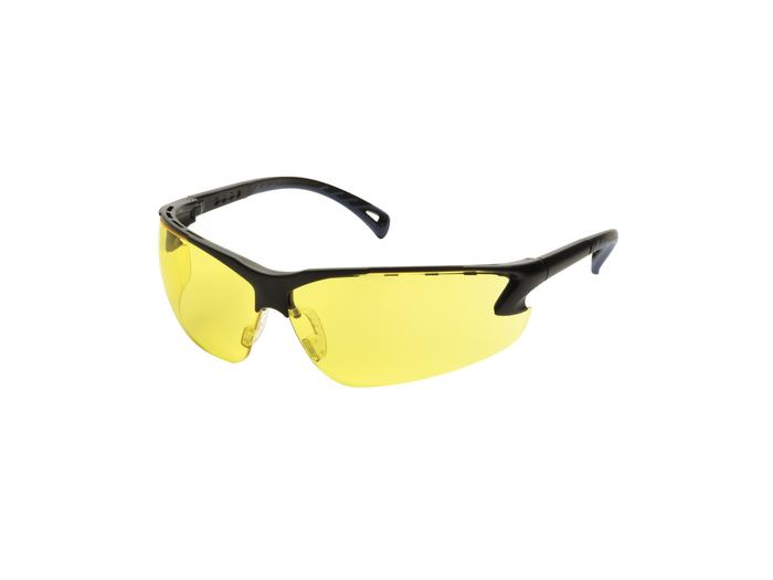 Protective glasses, Adjustable temples, Yellow