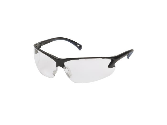 Protective glasses, Adjustable temples, Clear
