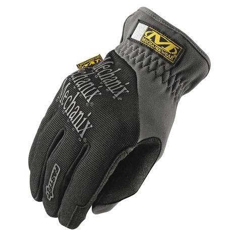 Gloves, Fastfit, Black, Size M