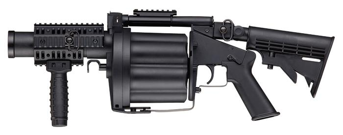 Multiple Grenade Launcher, black