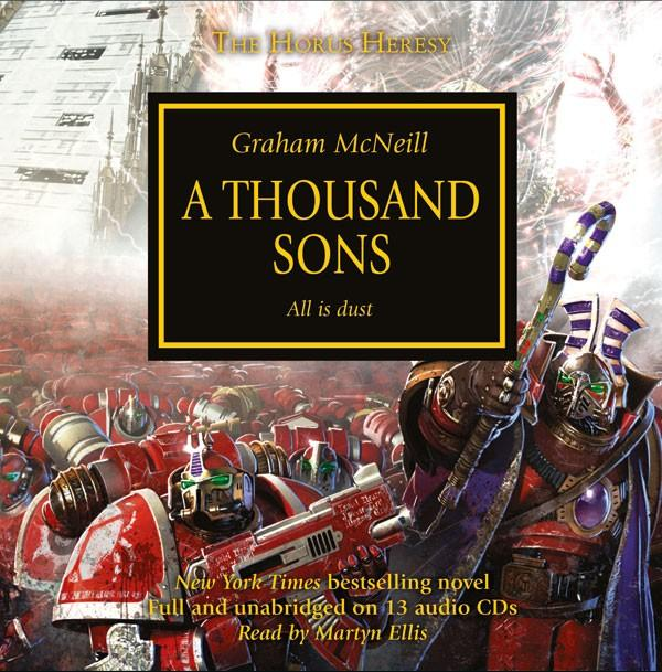 Horus Heresy: A Thousand Sons: All Is Dust (Lydbog CD)