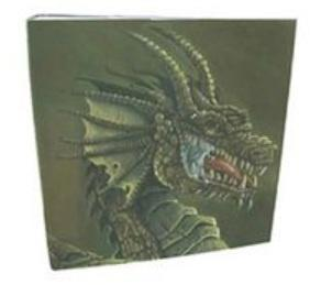Hardback Portfolio Binder - Brown Dragon