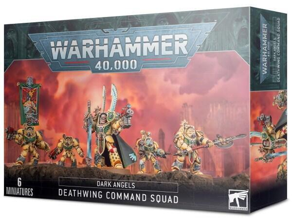 Deathwing Command Squad er blandt Dark Angels' elite