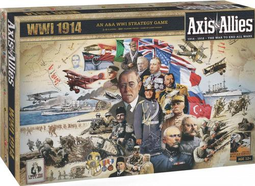 Brætspil Axis & Allies: WWI 1914