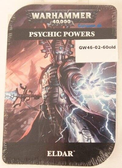 Denne psychic powers er 7th edition til Eldar