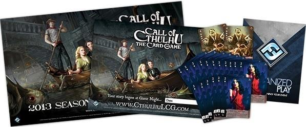 Call of Cthulhu: The Card Game Game Night Kit