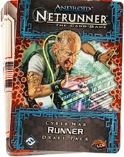 Netrunner Cyber War Draft Pack - Runner