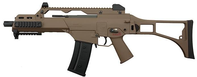 Softgun, G36C i Tan