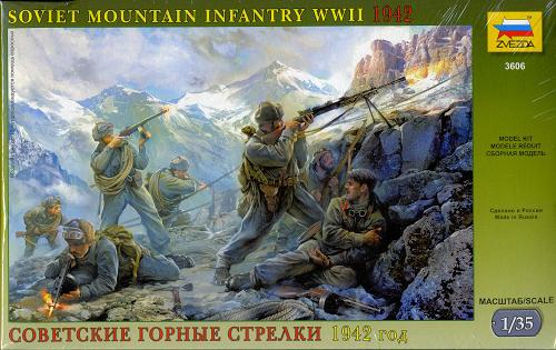 1/35 Soviet Mountain Infantry WWII 1942
