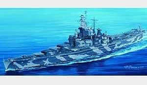 Trumpeter 1:350 USS Alabama BB-60