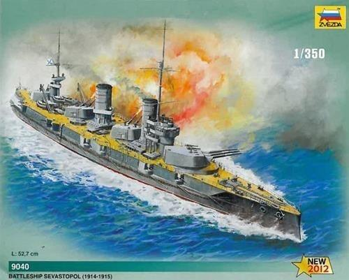 Russian Battleship Sewastopol Kit 1/350