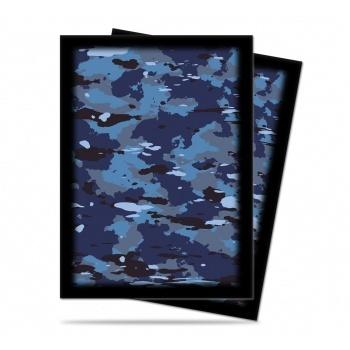UP - Standard Sleeves - Camouflage Line - Navy - (50 Sleeves)