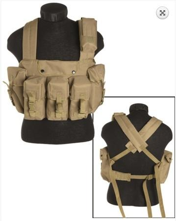 CHEST RIGG 6-POCKET Coyote