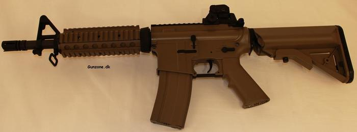 Softgun, M4 CQB CARBINE RIFLE, Ørken