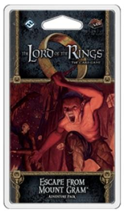 Lord of the Rings LCG: Escape from Mount Gram