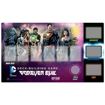 DC Comics Deck Building Game: Forever Evil Play Mat