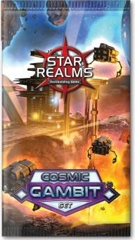 Star Realms Deckbuilding Game - Cosmic Gambit booster