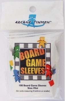 Board Games Sleeves - Mini (Yellow) (41x63mm)