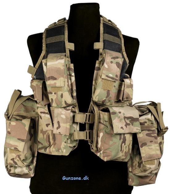Indsatsvest TACTICAL (12 TA.) Multicam
