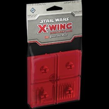 Star Wars X-Wing: Red Bases and Pegs Expansion Pack