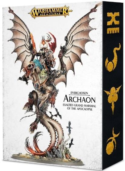 Archaon Everchosen er Chaos' ultimative enhed i Age of Sigmar