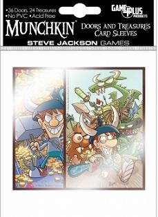 Munchkin - Doors and Treasures Card Sleeves 60 stk