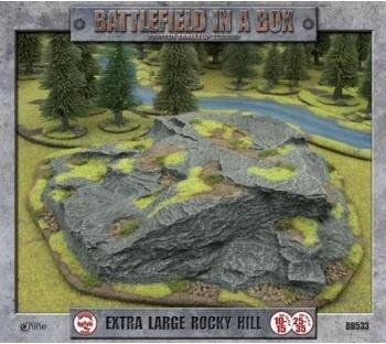 Battlefield in a Box Terrain - Extra Large Rocky Hill