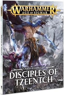 Battletome for Disciples of Tzeentch med faktionens regler