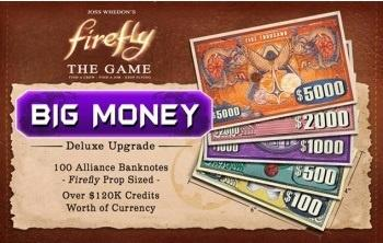 "Firefly: The Game - ""Big Money"" Currency Upgrade Pack"