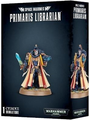 Space Marine Primaris Librarian