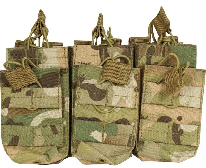 Viper Tactical Magasin lommer til 6 stk mags, Multicam