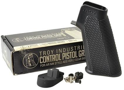 Troy industries CONTROL pistol greb, sort