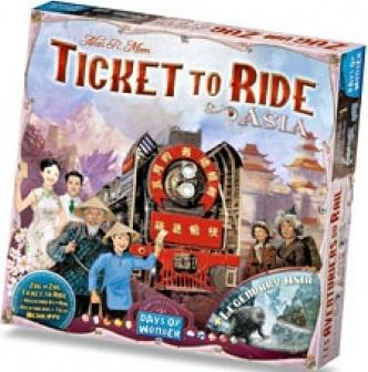 Ticket to Ride - Map Collection 1: Asia