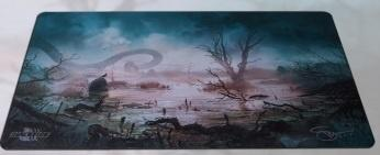 Spillemåtte - Svetlin Velinov Playmat - Swamp Ultrafine 2mm