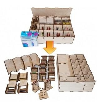 Organizer - Zombicide Black Plague Set (with 200 Sleeves)