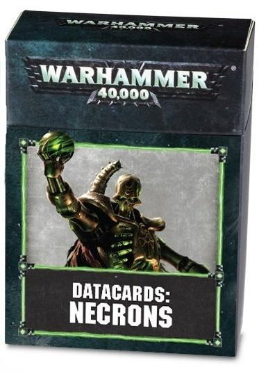 Datacards: Necrons (8th edition)