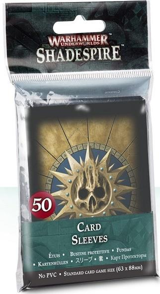 Warhammer Underworlds: Shadespire Card Sleeves (50 lommer)
