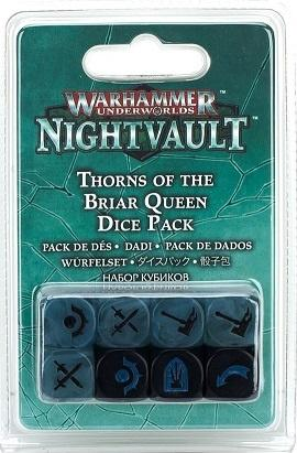 Warhammer Underworlds: Nightvault Thorns of the Briar Queen Dice