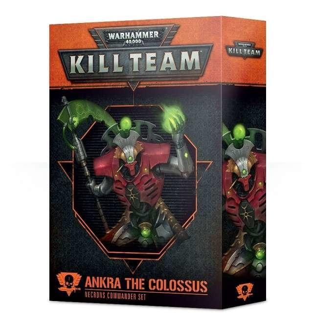 Ankra the Colossus er en Commander til Necron Kill Teams