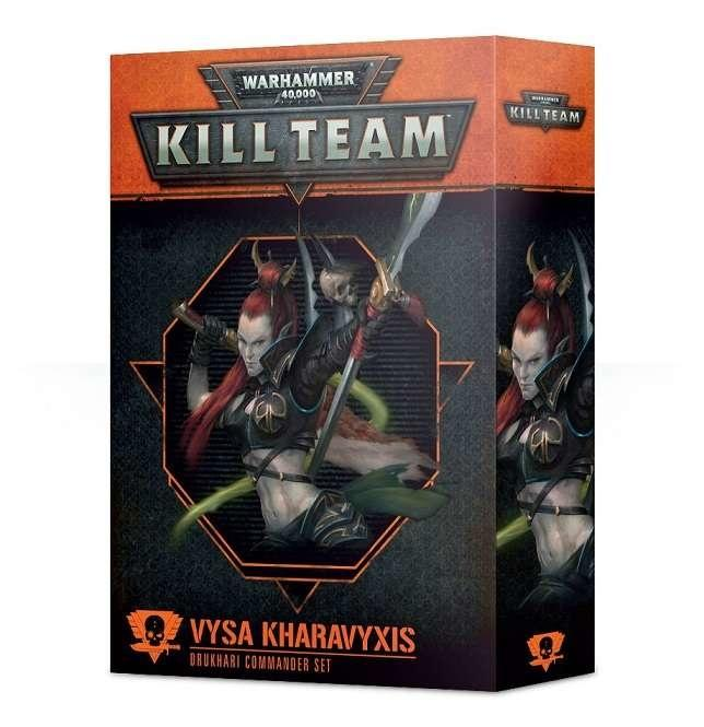 Kill Team: Vysa Kharavyxis Drukhari Commander Set