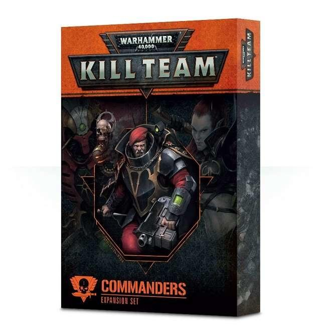 Commanders Expansion Set indeholder regler for at bruge elite kommandanter i Kill Teams