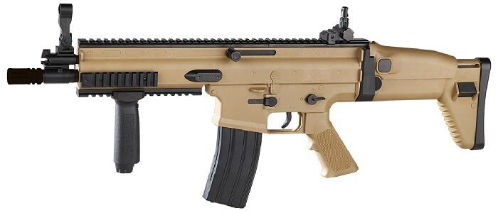 FN Scar-L Manuel Softgun, Tan